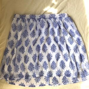 Gap chiffon skirt